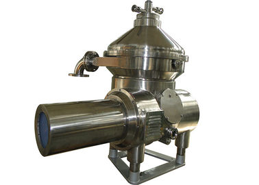 Beer Industry Stainless Steel Separator / Vertical Conical Disc Centrifuge